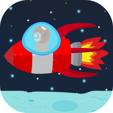 Space Flappy - the Reverse Flappy Game