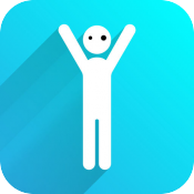 Stick Man Stickers App Icon